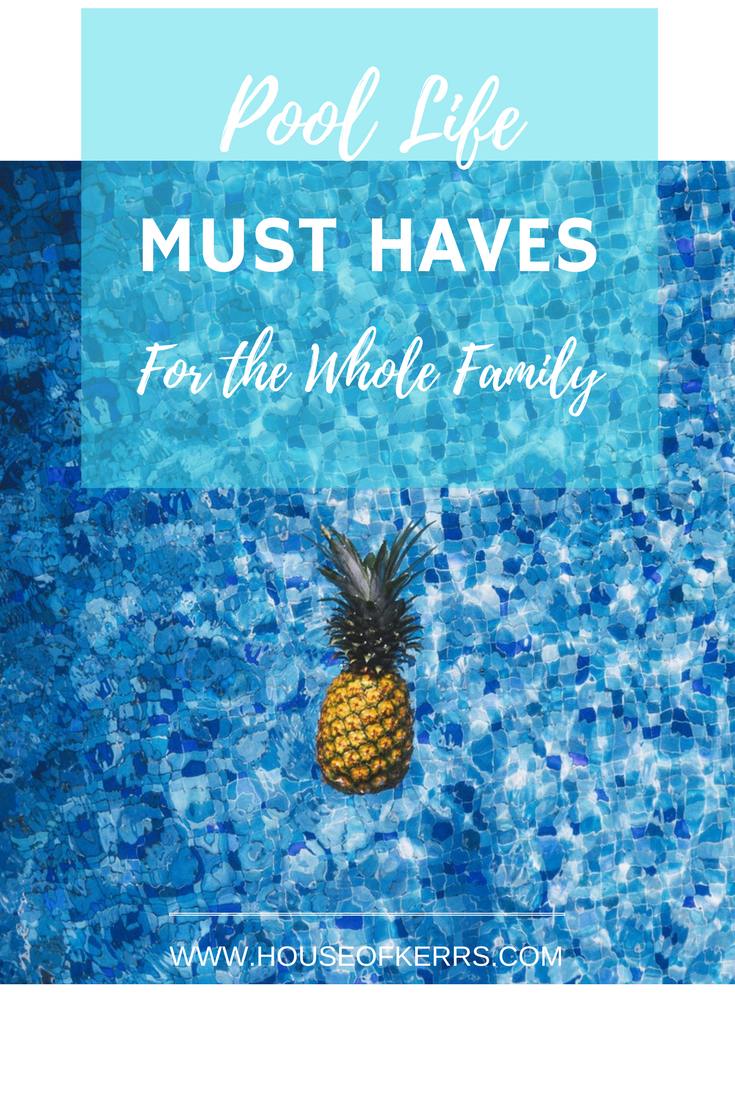 Pool life must haves for the whole family for Pool design must haves